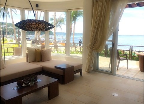 Photo from the 7 Stones Boracay Suites website