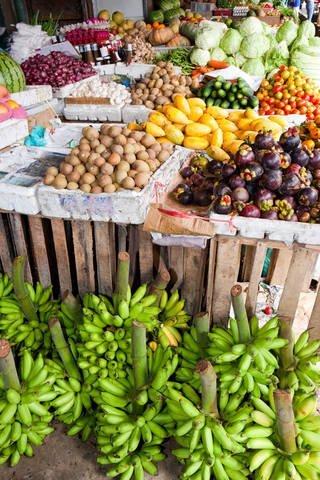 Apayao Philippines Fruit Stand