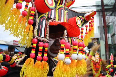 Ati-Atihan Festival in Kalibo, Aklan, Phlippines