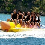 Banana Boat Ride in Boracay