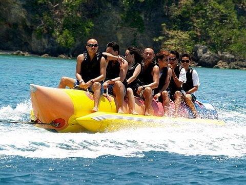 Banana Boat Ride in Boracay