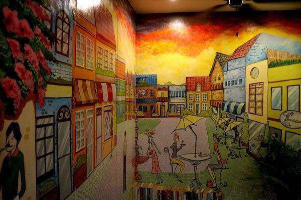 F. Torres Street in mural.