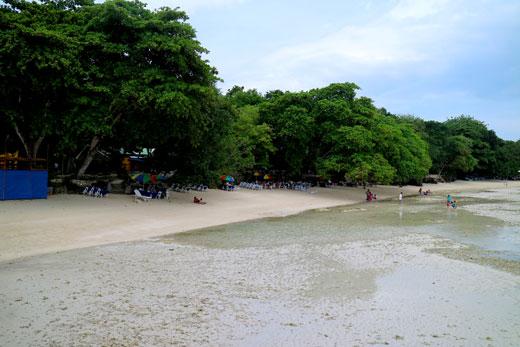 Costa Marina low tide