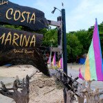 Costa Marina Beach Resort Welcome Sign