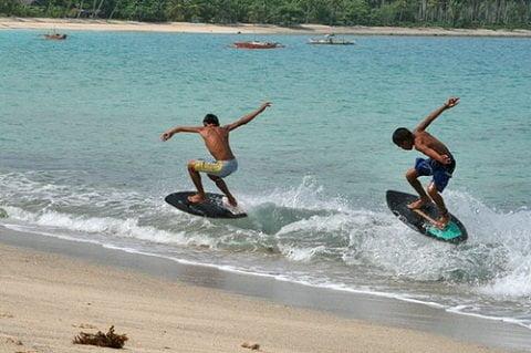 Dahican Beach Skim SurfersDahican Beach Skim Surfers