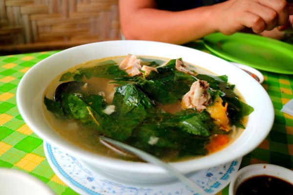 Native chicken tinola. yum!