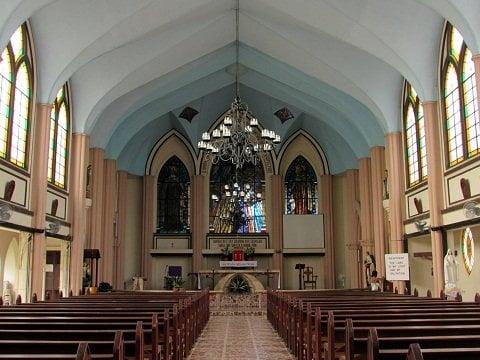 Carmelite Monastery altar