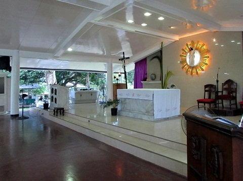 Sto. Nino Shrine altar