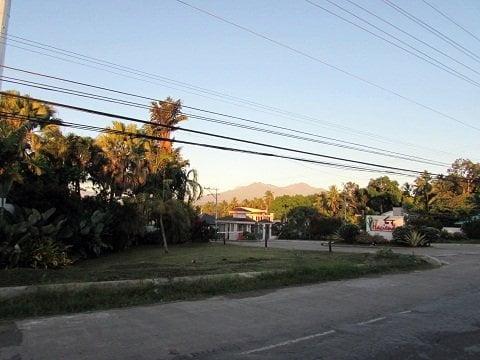 Sunrise along Calinan