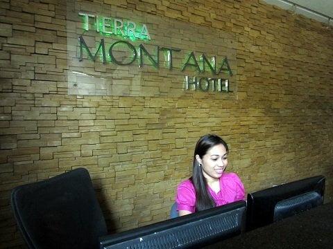 Tierra Montana Hotel Front Desk
