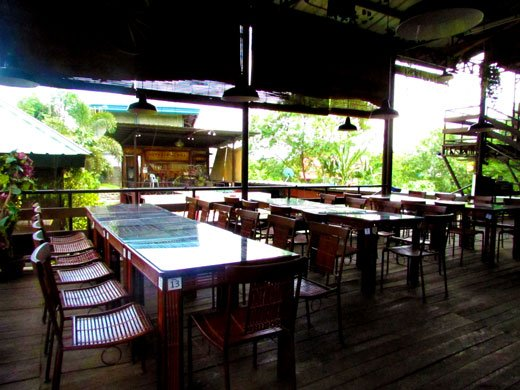 Outback Grill Davao dining area