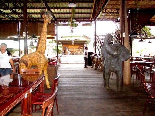 Outback Grill Davao Animals