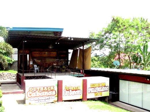 Outback Grill Davao Entertainment Area