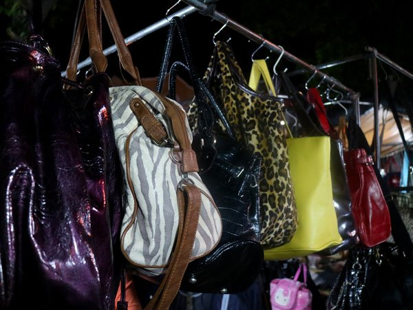 Bags at the Roxas Night Market
