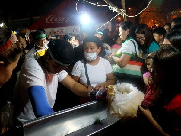 Mang Danny's Ice Cream at the Roxas Night Market