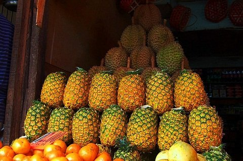 Pineapples and Other Fruits