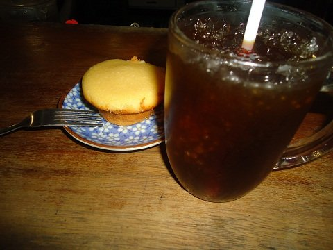 Real Coffee's Calamansi Muffin and Iced Coffee