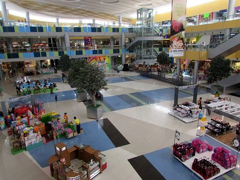 Malls abound in the city, making shopping a delightful experience.