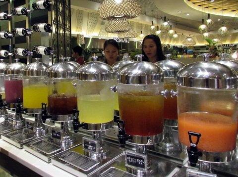 Vikings Davao beverage station