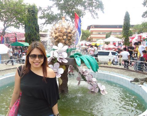 Adelle at Araw ng Dabaw 2013 in Davao City