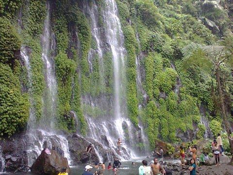 Asik-Asik Falls in Alamada, North Cotabato.