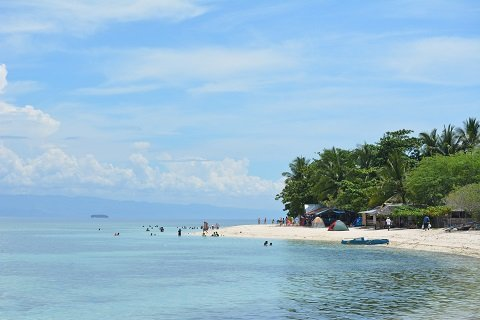 Lambug beach in Badian Cebu