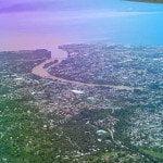 Aerial View of Cagayan de Oro City