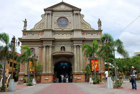 Oldest Catholic Church located in Dumaguete Philippines.