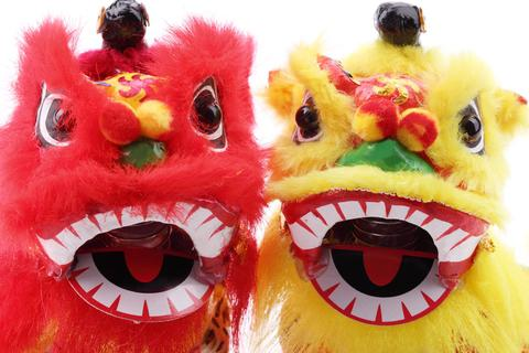 Chinese New Year Lions.