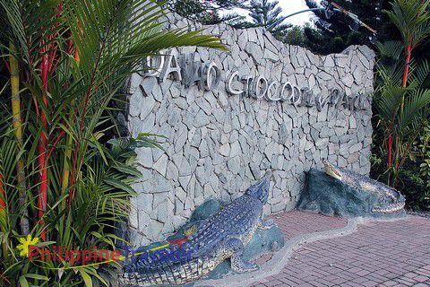 Entrance to the Davao Crocodile Park