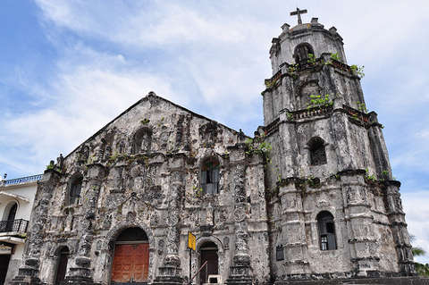 Daraga Church in the town of Cagsawa in Albay.