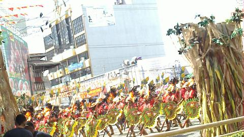 Dinagyan Festival in January in the city of Iloilo