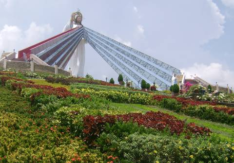 Divine Mercy Shrine in the city of El Salvador Philippines.