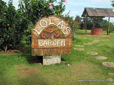 Lola's Garden at Eden Nature Park
