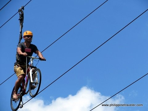 Sky Cycle adventure at Eden Nature Park