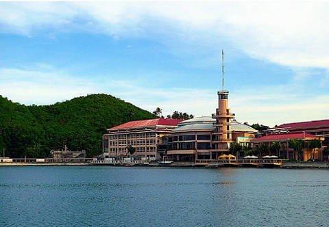 Embarcadero in Legazpi City.