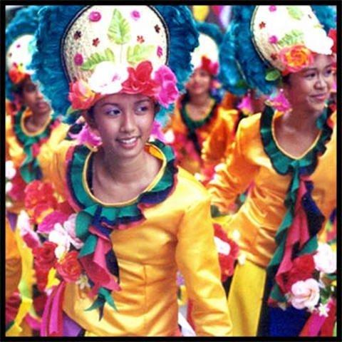 Fiesta Pilar in Zamboanga, The City of Flowers.