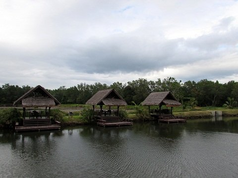 fishing-huts