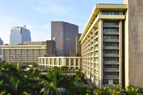 Large hotel in the city of Makati, Metro-Manila