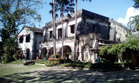 Inside Fort San Pedro