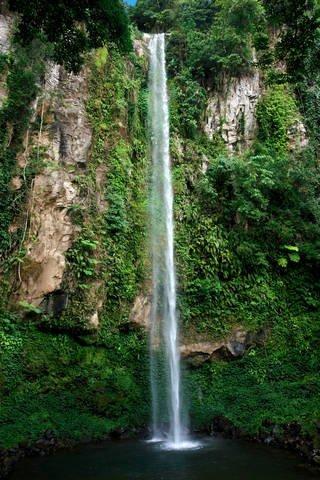 Katibawasan Falls on Camiguin Island