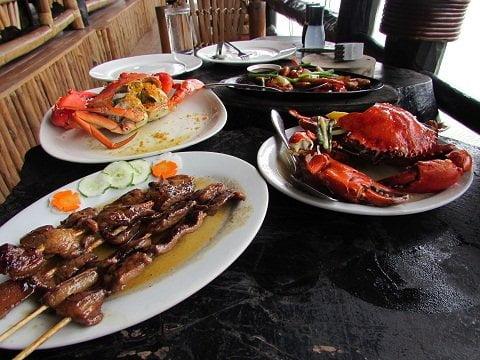 Lunch at Punong Restaurant