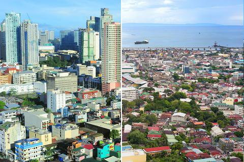 Comparison of Makati City Metro Manila with Cebu City