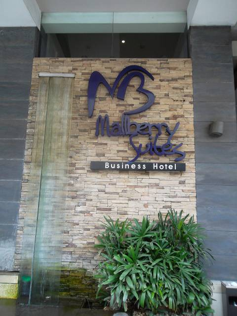 Mallberry Suites Business Hotel in Cagayan de Oro City, Philippines.