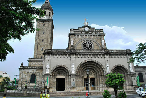 Manila Cathedral also known as the Minor Basilica of the Immaculate Conception.
