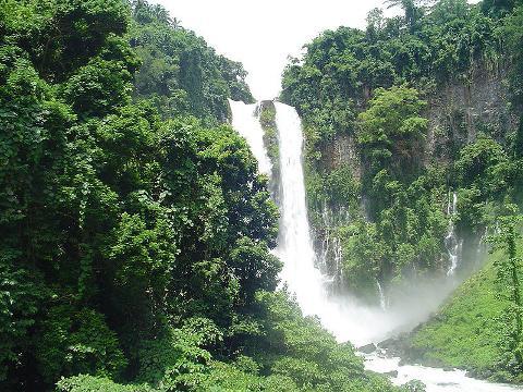 Maria Cristina Falls in Iligan City, Lanao del Norte, Mindanao Philippines.