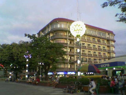 Maria Cristina Hotel in downtown Iligan City.