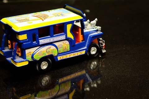 Mini jeepney from the Philippines.