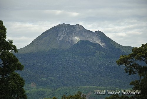 Spectacular view of Mt. Apo.