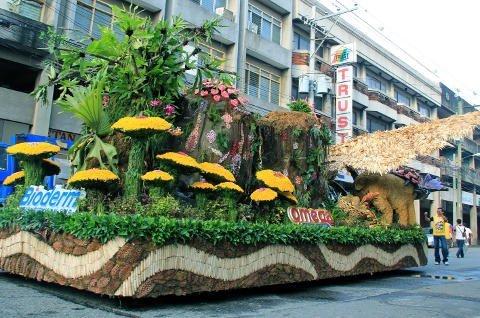 Pamulak Kadayawan Floaral Float